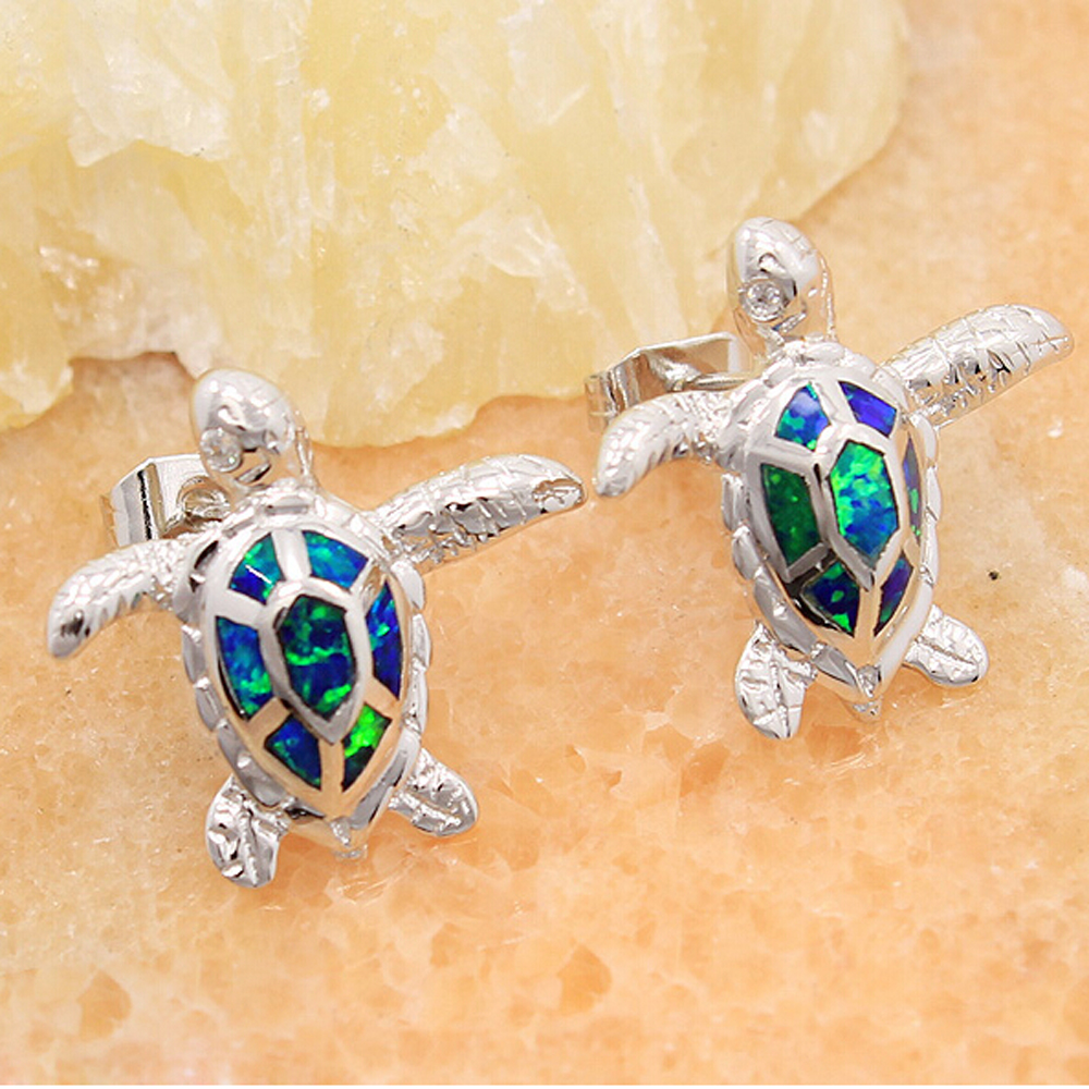 Alibaba China Turtle Imitation Pearl Stud 925 Sterling Silver Earrings for Women Elegant Jewelry