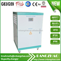 Professional manufacture thin film solar panels pump inverter 30kw