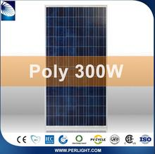 Made in China 25 years warranty 300w poly solar panel