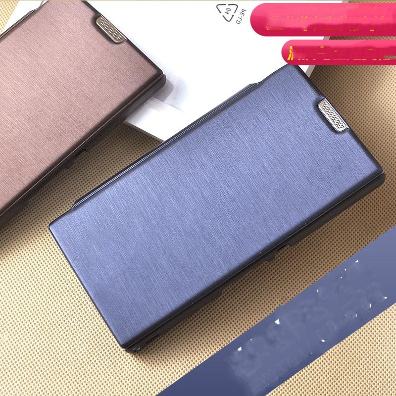 2015 Small Moq Wholesale Wallet Leather Flip Case For Sony Xperia L S36h