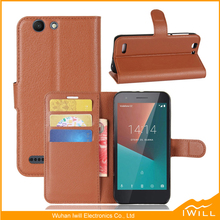 Smart Wallet Leather Phone Case For Vodafone Smart E8 Flip Cover Stand Cover Eruasia version