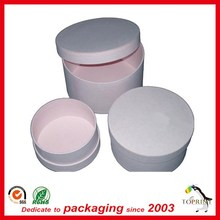 High end eco friendly cosmetic packaging luxury cosmetic container paper cosmetic jar