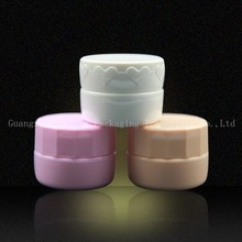 Hot sale 5-8g colorfull empty acrylic cosmetics container,acrylic plastic jar