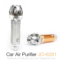 Electric Negative Ion Type Auto Freshener Ionic Car Air Purifier For Car