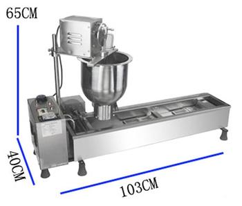 Free shipping Popular Commercial Automatic Lokma Donut Making Machine For Sale