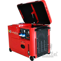 6.5KW 7KVA KAMA Type Super Silent Portable Diesel Generator for Sale