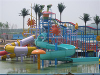 2015 hot sale familiy kiosk water house aqua park equipment for childeren game