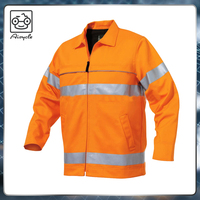 Waterproof work jacket Hi-Vis 3m reflective jacket workwear for men