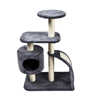 Wall Corner High Quality Cat House Tree Scratch With Scratch Board