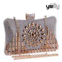 New Arrival Evening Bag Sequins Clutch Purse Rhinestone Clutch Bag