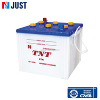2015 top quality 12V 100Ah JIS starter lead acid used car battery