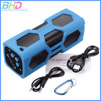 New Product 2016 Waterproof Bluetooth Speaker Power Bank With Mic NFC funtion outdoor sport portable spearkers for climbing