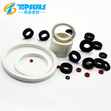 thick round rubber silicone flat ring gasket