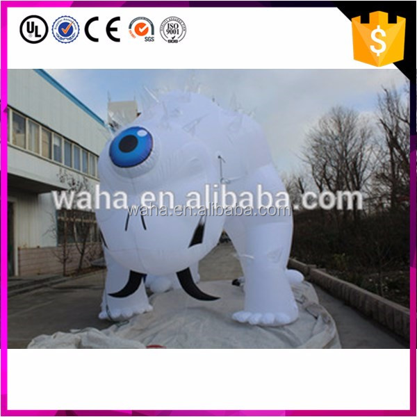 Hot sale giant inflatable monster cartoon characters