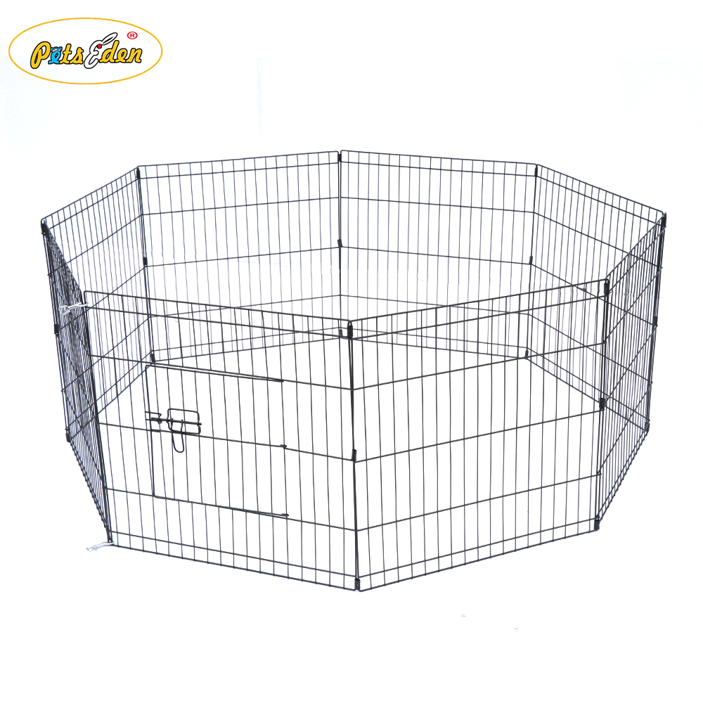 New Wire Steel Folding Pet Dog Playpen Cat Rabbit Puppy Run Fence