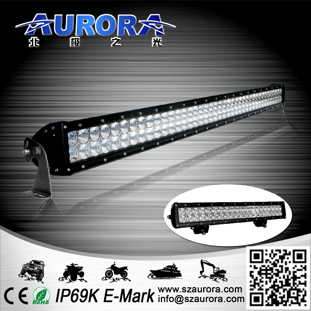 double row led driving roof light bar for heavy duty car, farm use truck, off road auto