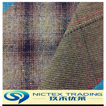woven tweed blend woolen fabric for wool cloth