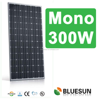 Bluesun best quality Mono 300W solar cell with low price high quality
