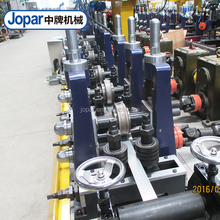 Stainless steel pipe making machines used in furniture pipe manufacturing