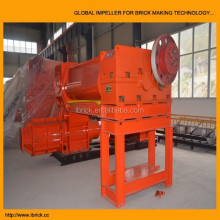 Mud Brick Raw Material treatment equipment EV50A Automatic Clay brick vacuum extrusion machine