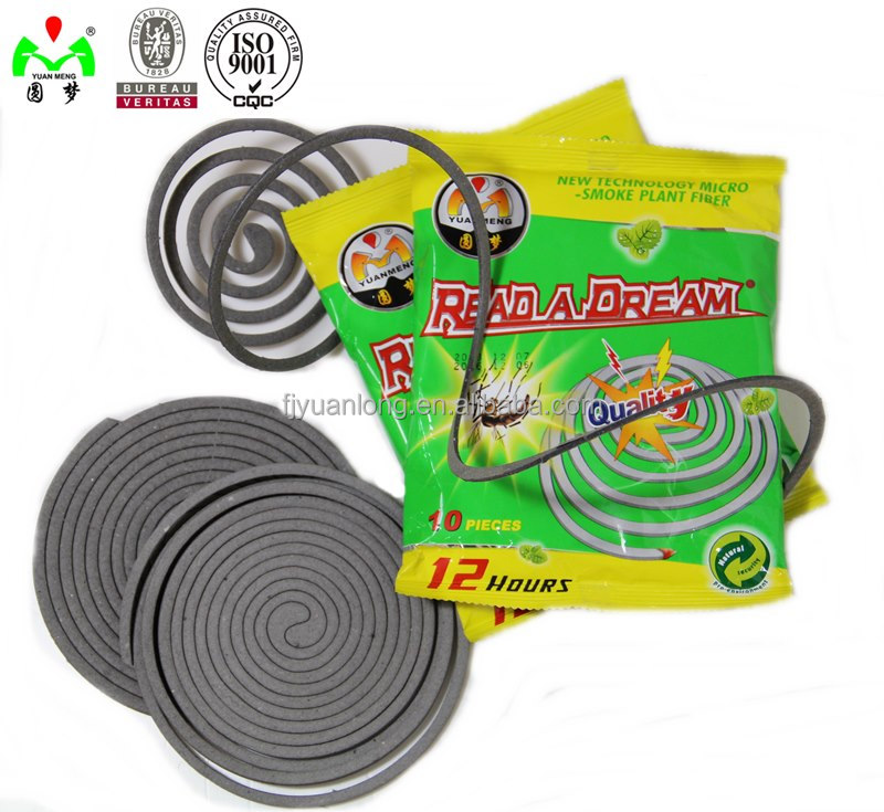Big Discount Cheapest Stock Plant fiber mosquito Coil for export