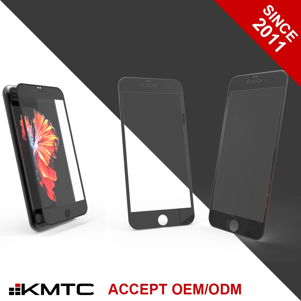KMTC 3D Forming Green Chemical Strengthening Screen Protector Tempered Glass For Iphone 6+