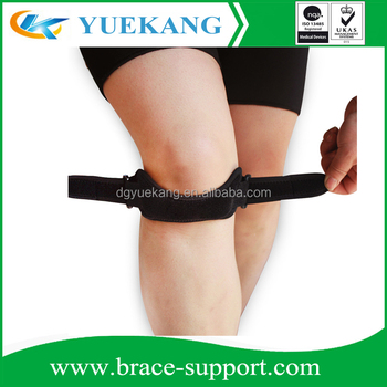 Neoprene Adjust Knee Brace Basketball padded Knee Strap
