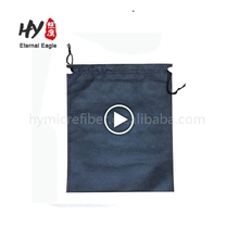 Wholesale superior cloth hdpe nonwoven drawstring bag, drawstring nonwoven bag, large drawstring gift bags