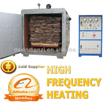 Radio Frequency American Walnut Slab Drying Kiln for Furniture
