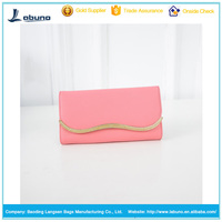 factory wholesale candy color lady wallet case candy color women wallet leather purse
