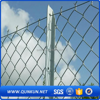 High quality and low price aluminum chain link fence for bamboo fence