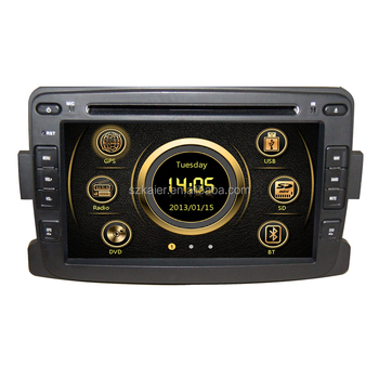 Wince 6.0 Manufacturer 7'' Car Multimedia DVD Player System for Renault Logan/Sandero/Duster 2014 2015 USB SD DVB-T Hot Selling