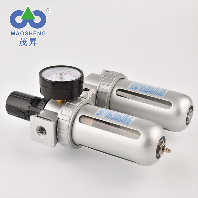 Distinctive Modularity SFC Series Air Source Treatment Unit FRL Combination Regulator and Lubricator