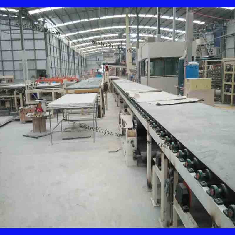 2017 CE Certification for gypsum board making machine
