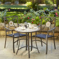Rattan Slate Patio Set