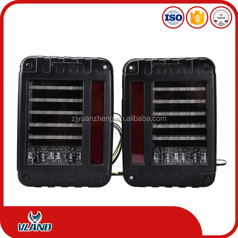 car accessories for Jeep Wrangler 3 generation led taillight lamp rearlight