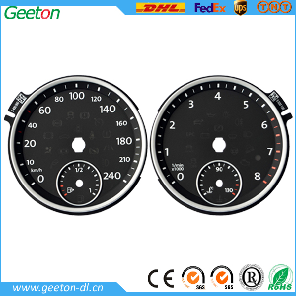 Custom Manufacture Plastic Dashboard Digital Speedometer For Motorcycle
