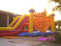 2013 hot sale inflatable Menorah water slide for Hanukkah/Chanukah B4027