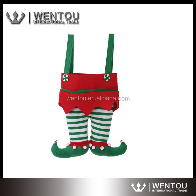Personalized Christmas Jingle Bell Elf Pants Stockings