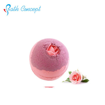 Bathconcept fizzy natural herbal formula vanilla bath bombs