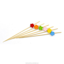 Biodegradable bamboo cocktail picks