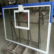Tempered Glass Basketball Backboard for school and home using