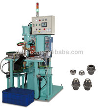 Automatic feeding system nut welding machine