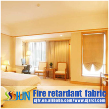 Creating frist-class model life with flame retardant chemicals curtain C66