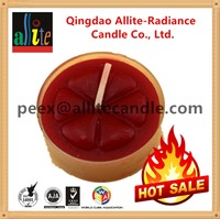 the most popular wholesale Mutil-color tea cup dome candle wax making