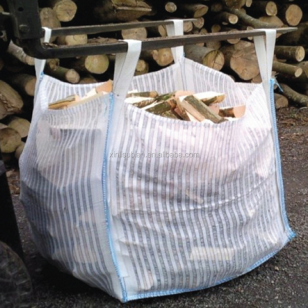 pp one ton breathable big firewood big bag