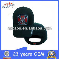 Customized embroidery hats maker skull baseball cap