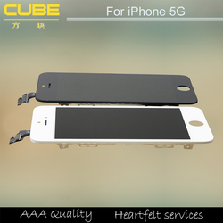 New Original High Quality LCD 100% Gurantee Retina Display Replacement LCD Digitizer Touch Screen For Apple iphone 5