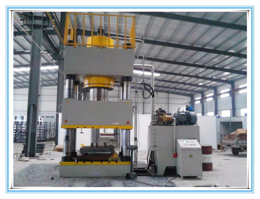 deep drawing 160 ton four column Hydraulic tablet press machine in Machinery Price