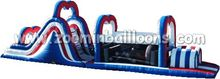 Factory directly sell inflatable castle with slide Z4013